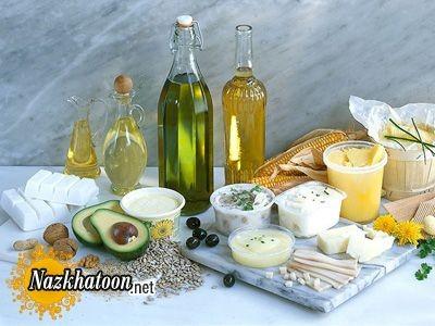 چندین خوراکی غنی از چربی مفید