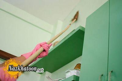 صحیحترین روش تمیز کردن دیوارها