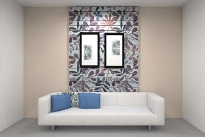 کاغذ دیواری کردن دیوار اتاق