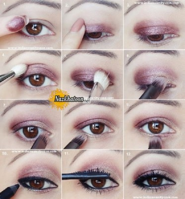 plum-gold-eye-makeup-tutorial
