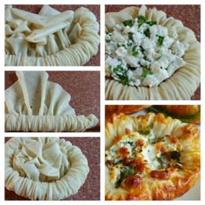 روش تهیه بشقاب پنیری