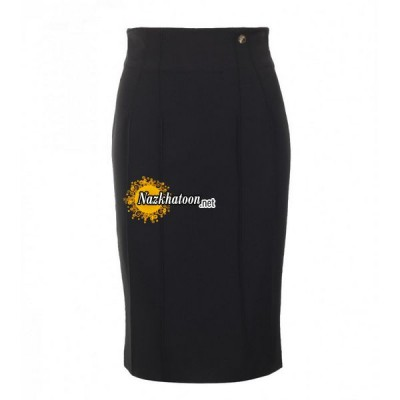 versace-collection-black-jersey-pencil-skirt