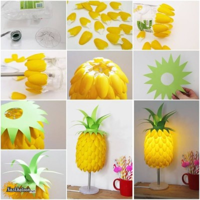 Pineapple-Lamp-Shade