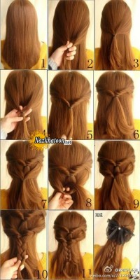 Simple-Hairstyle-For-Girls-at-Home-Without-Hairspray-Beautiful-Braid-Hairstyle