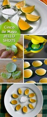 ایده خوشمزه ژله در پوست لیمو