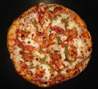روش تهیه پیتزای خانگی بدون فر