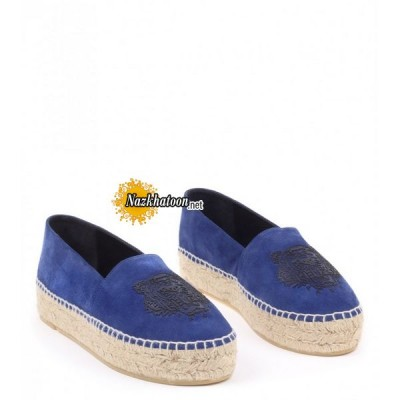 kenzo-blue-leather-&-suede-'tiger'-espadrilles
