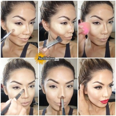 ۱-party-makeup-tutorial-step-by-step