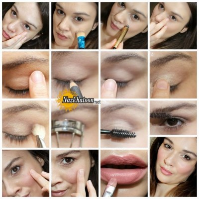 ۲-Natural-makeup-look-step-by-step