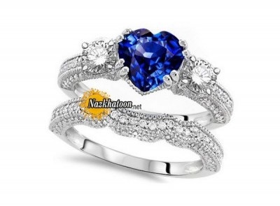 ۳-beautiful-vintage-sapphire-engagement-rings-for-girls-2