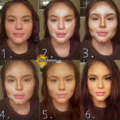 ۳-full-face-make-up-for-girl