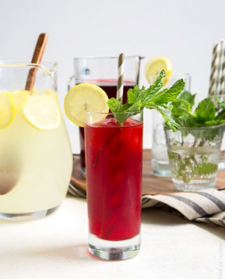 روش تهیه نوشیدنی لیموناد ترش نعنایی