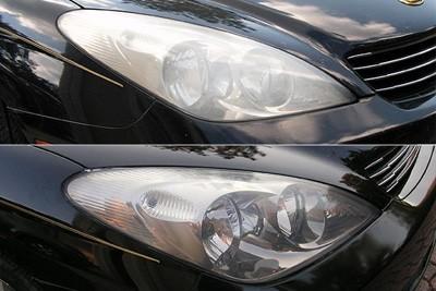 روش تمیز کردن چراغ های خودرو