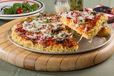 روش تهیه پیتزا نودل بدون فر