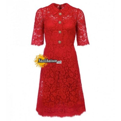 dolce-&-gabbana-red-cotton-blend-floral-lace-midi-dress
