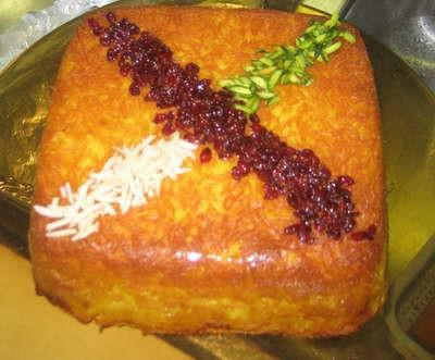 طرز تهیه ته چین مرغ در فر