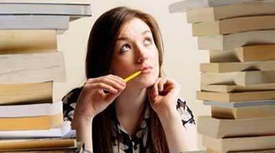 عدم تمرکز هنگام مطالعه