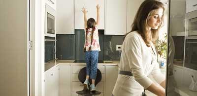 تمیز کردن سریع آشپزخانه