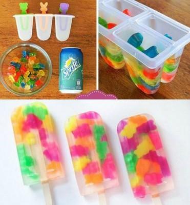 روش تهیه بستنی یخی با میوه