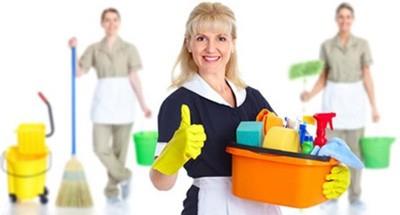 تمیز کردن قسمت های مختلف خانه