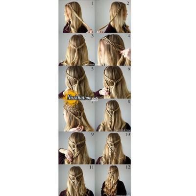 آموزش شینیون مو – ۲۴۵