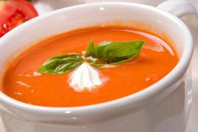 روش تهیه سوپ گوجه فرنگی