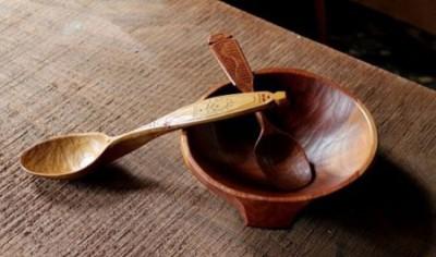 نو کردن ظروف چوبی آشپزخانه