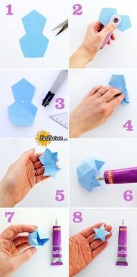 ساخت جعبه انگشتر ستاره ای