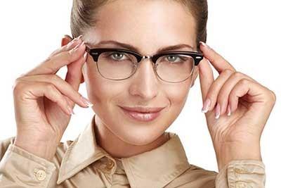 آرایش چشم مخصوص عینکی ها