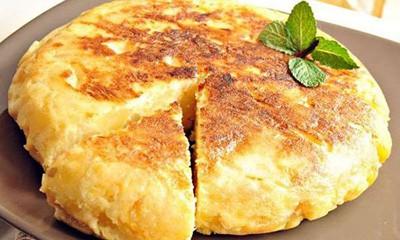 روش تهیه نان پنیر و سیب زمینی