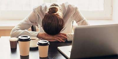 نشانه های که علامت استرس کاری