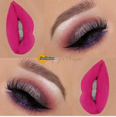 مدل آرایش چشم و لب ۲۰۱۶