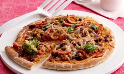 روش تهیه پیتزای مکزیکی
