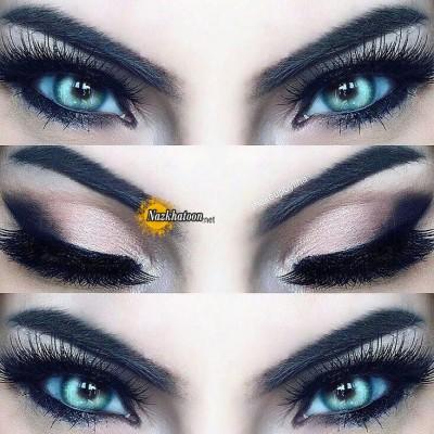 مدل های شیک آرایش چشمهای ریز