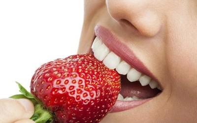 دستور غذایی برای دندانهایی سفید
