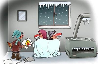 توصیه های آتش نشانی برای فصل سرما