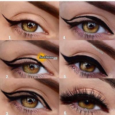 آموزش ساده کشیدن خط چشم