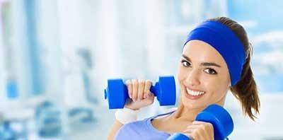 روشن و سفت شدن پوست با ورزش