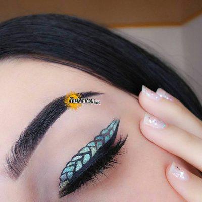 آرایش چشم زمستانی جدید