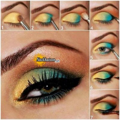 vibrant-colors-eye-makeup-tutorial