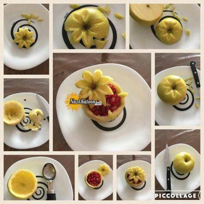 ایده جالب برای شب یلدا با میوه