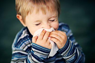 راهی برای کوچولوی سرماخورده