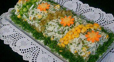 دستور طرز تهیه سالاد استونا مخصوص با طعمی فوق العاده خوشمزه