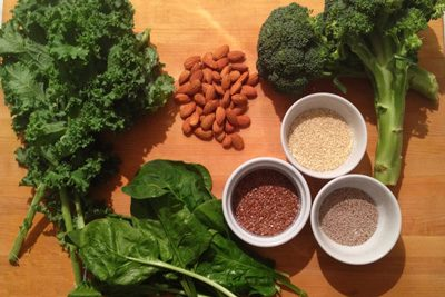 منابع گیاهی غنی از کلسیم