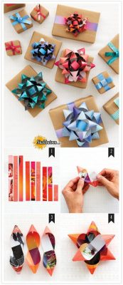 ایده جالب برای تزئین جعبه کادو