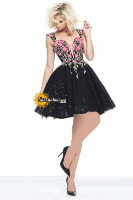 مدل لباس مجلسی کوتاه – ۱۴۱