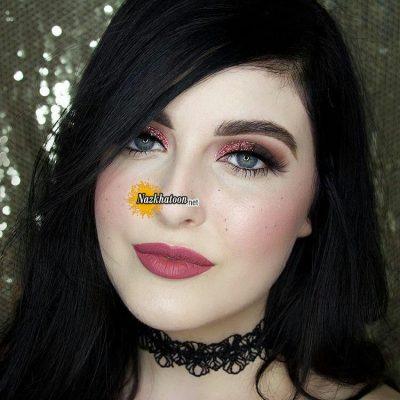 مدل آرایش غلیظ دخترانه