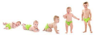 چگونگی رشد تا یک سالگی