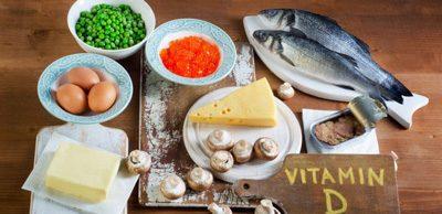 منابع غذایی مهم این ویتامین D