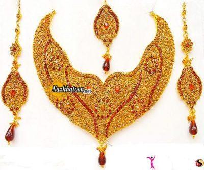 مدل ست جواهرات هندی